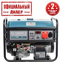 Бензиновый генератор Konner&Sohnen KS 10000E-3 (8 кВт, 380 В)