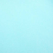 Фетр корейский мягкий 1.2 мм, НЕБЕСНЫЙ RN-30, 1 х 1.1 м, на метраж