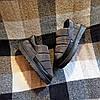 Короткі уггі як тапочки автоледі сліпони хутряні низькі дутики не промокающие зимові теплі чорні сірі, фото 2