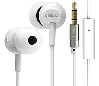 Вакуумні навушники Remax RM-501 Earphone Білі