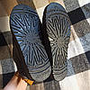 Короткі уггі як тапочки автоледі сліпони хутряні низькі дутики не промокающие зимові теплі чорні сірі, фото 3