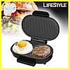 Гриль котлетница для гамбургерів DSP КС1124 + навушники у подарунок!