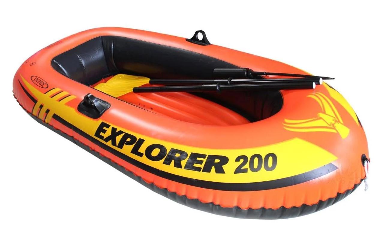 Детская надувная лодка Explorer Intex 58330