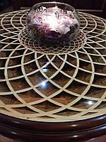 Журнальний столик дерев'яний кофейний / Стол журнальный деревянный кофейный.