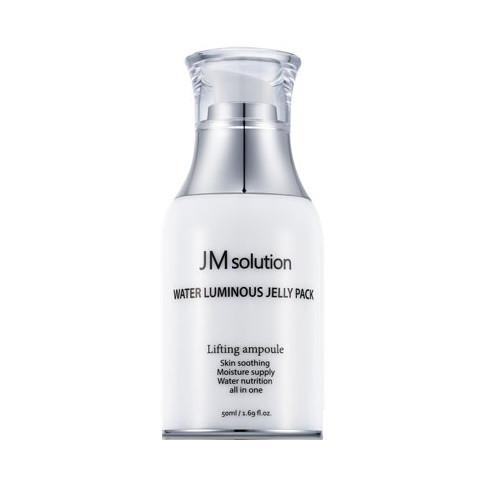 Увлажняющая несмываемая маска для сияния кожи JMSolution Water Luminous Jelly pack