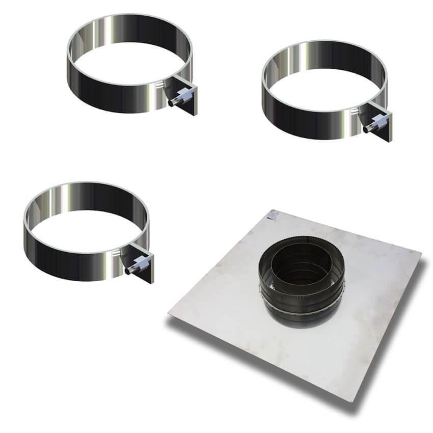 Монтується правильно - комплект монтажний 150/220 мм - Фабрика ZIG