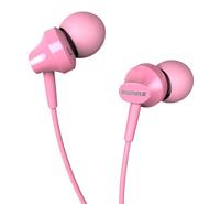 Вакуумні навушники Remax RM-501 Earphone Рожеві