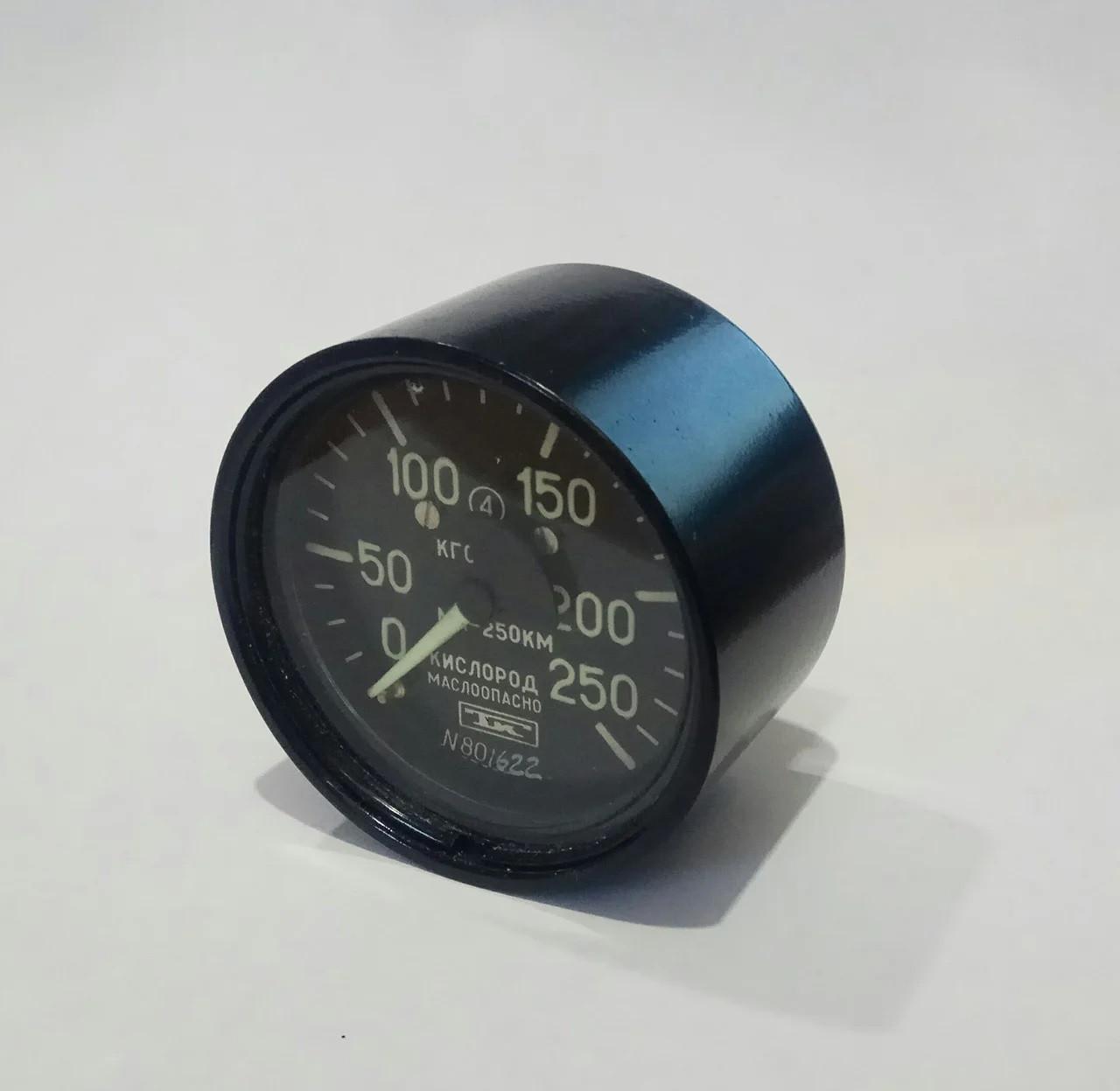 Манометр ММ-40С2 250 кгс/см2 кислород