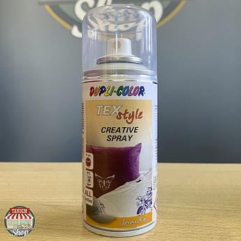 Краска для ткани и текстиля Dupli Color, 150 мл Аэрозоль Серебристый