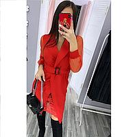 Стильное женское платье кардиган 42-46 в цветах