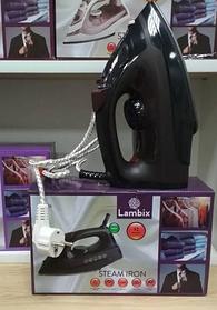 Праска парова Lambix LB-1904 тефлонова підошва: нержавіюча сталь 1600 Вт