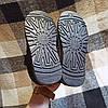 Короткі уггі автоледі сліпони хутряні низькі дутики не промокающие зимові теплі чорні, фото 2