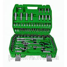 Набор инструментов 94 ед. Intertool ET-6094sp+Набор ключей комбинированных 12ед. + Набор ударных отверток 6 шт, фото 3
