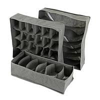 Комплект для хранения Traum 7017-23 серый