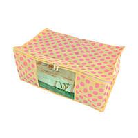 Органайзер для белья Traum 54х34х22 см 7017-15 желтый с розовым