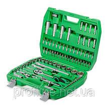 Набор инструментов 94 ед. Intertool ET-6094sp+Набор ключей комбинированных 12ед. + Набор ударных отверток 6 шт, фото 2