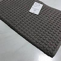Готовое хлопковое полотенце кофейного цвета 32х69 см, фото 1