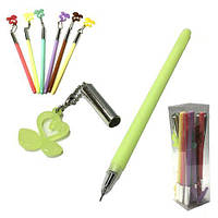 Ручка гелевая с лебедями (12) VD318
