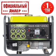 Генератор бензиновый K&S BASIC KSB 1200C (1 кВт)