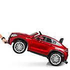 Детский электромобиль Mercedes Benz M 4146EBLRS-3 красный автопокраска, фото 3