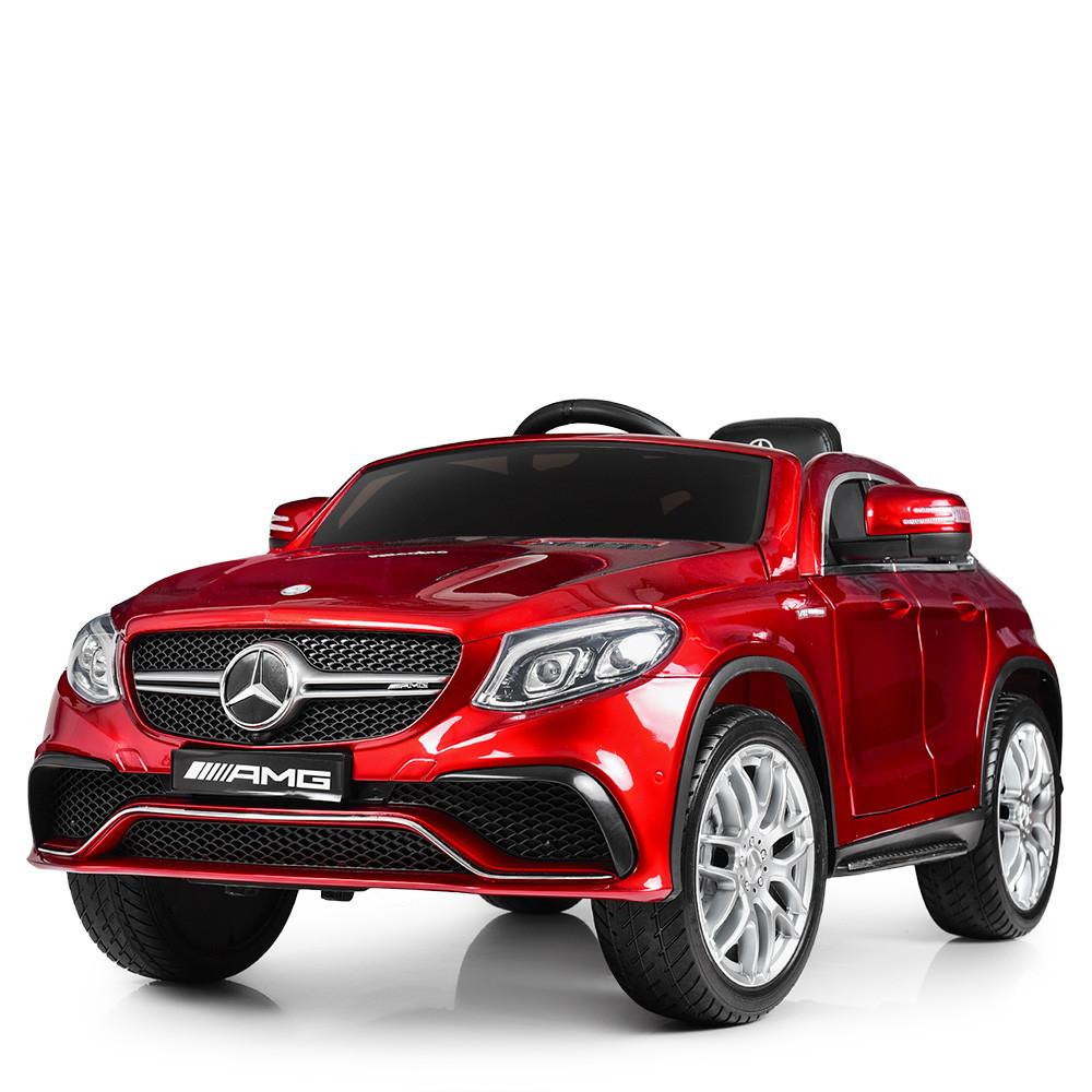 Детский электромобиль Mercedes Benz M 4146EBLRS-3 красный автопокраска