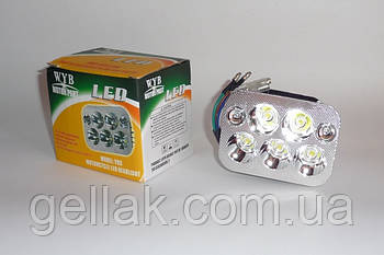 Лампа света LED 5 диодов WYB