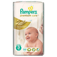 Подгузник Pampers Premium Care Midi (4-9 кг), 60шт (4015400274780)