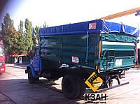 Тентовая накидка из ткани ПВХ  на кузов длиной до 4,0 м шириной до 2,55 м с комплектом для установки