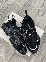 Женские кроссовки Jimmy Choo Black