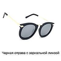 Сонцезахисні окуляри лінзою Polaroid чорна оправа