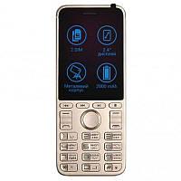 Мобильный телефон Ulefone A1 Dual Sim Gold (6985735712364), 2.4 (320x240) IPS / клавиатурный моноблок /