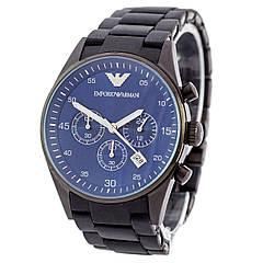 Наручные часы Emporio Armani AR-5905 Black-Blue Silicone