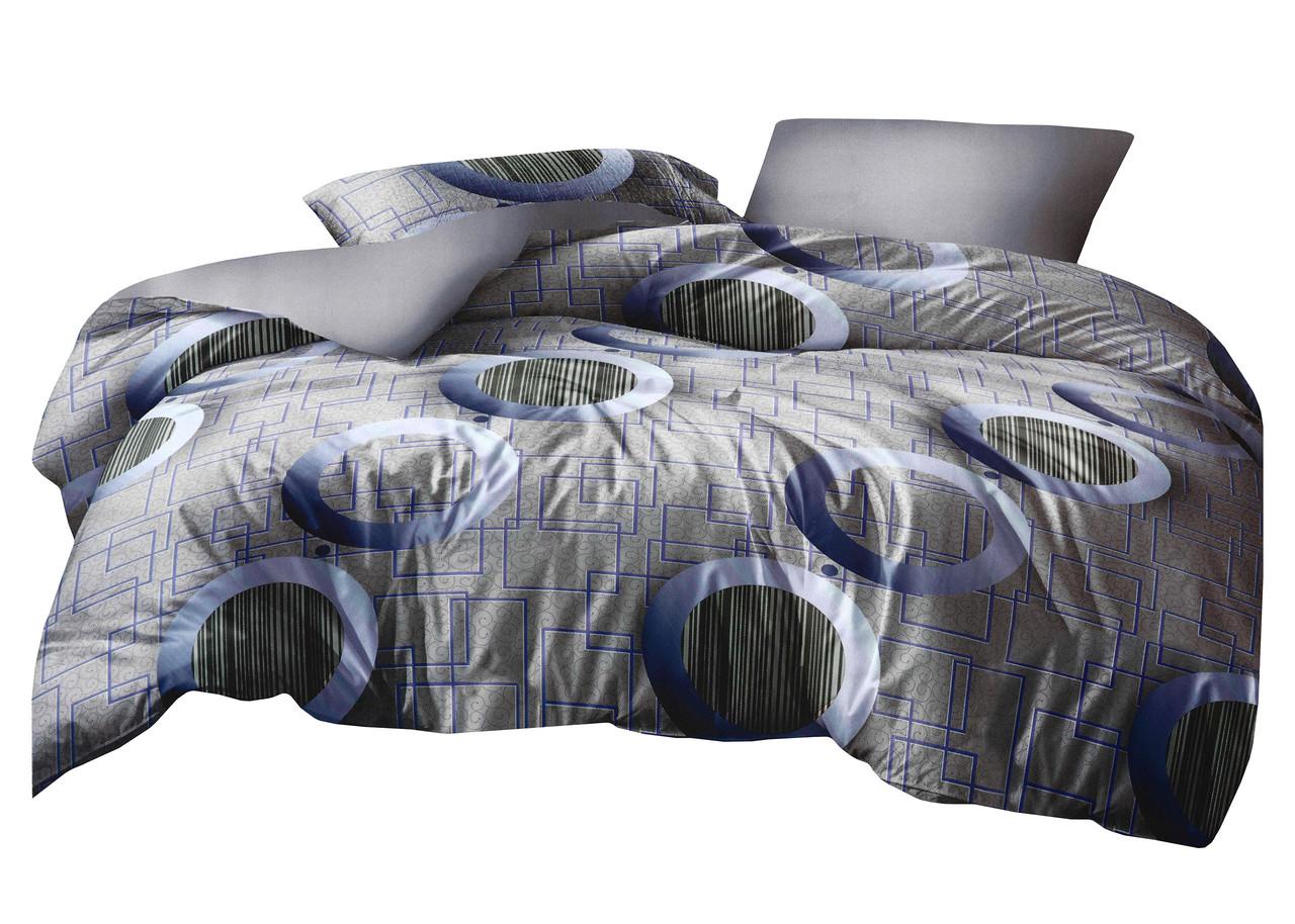 Комплект постельного белья Микроволокно HXDD-820 M&M 8318 Серый