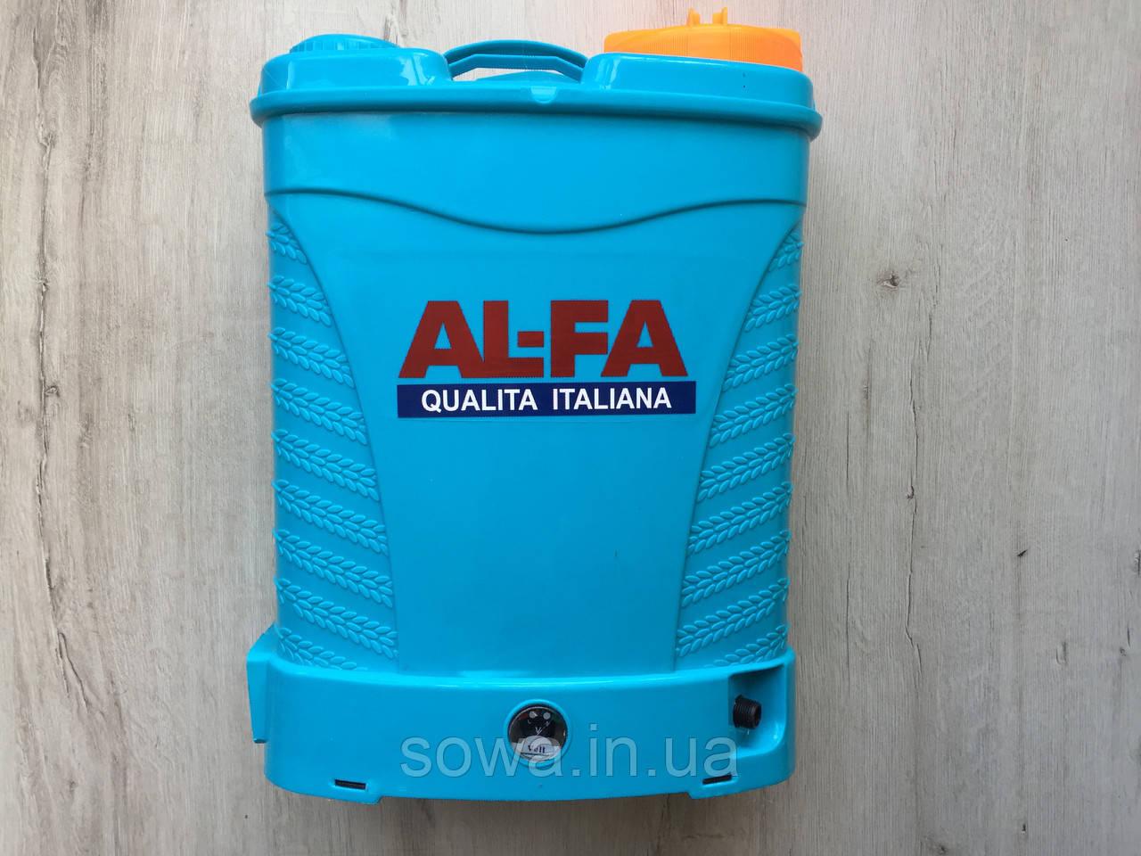 ✔️ Аккумуляторный опрыскиватель AL-FA PROFI  |  15Ah, 16L