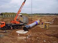 водонапорная башня установка на фундамент