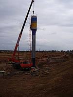 водонапорная башня монтаж