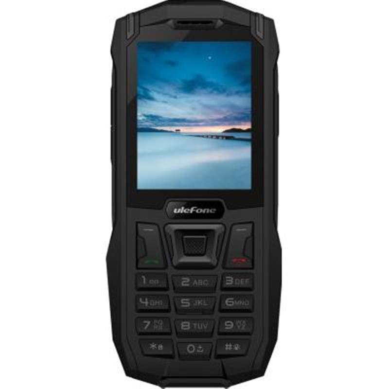 Мобильный телефон Ulefone Armor Mini Dual Sim Black (6937748732310), 2.4 (320x240) TN / клавиатурный моноблок