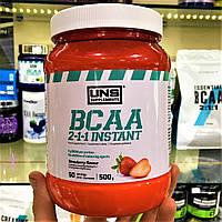 Аминокислоты UNS BCAA 2:1:1 Instant 500g УНС ВСАА для набора массы, для похудения сушки.