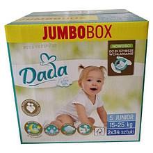 Підгузники Dada Extra Soft Jumbo Box 5 Junior (15-25 кг), 68 шт