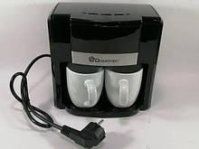 Кофеварка капельная Domotec MS-0708 в наборе с 2 чашками
