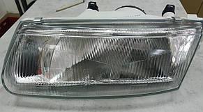 Левая фара Митсубиши Каризма 95-99 механическая/электрическая регулировка / MITSUBISHI CARISMA (1995-2004)