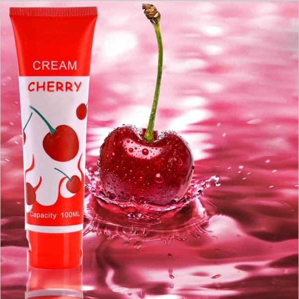 Сьедобная интимная смазка на водной основе вишневая 100 mg