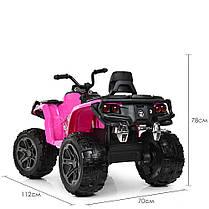 Детский квадроцикл Bambi розовый 3999, фото 3