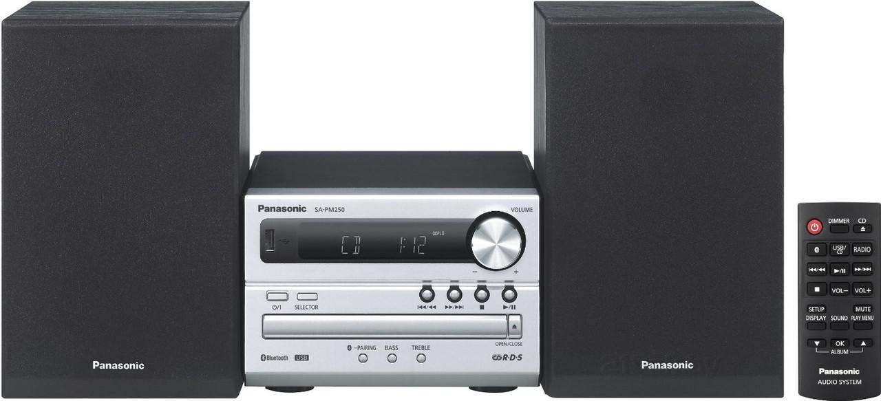 Музыкальный центр Panasonic SC-PM250EE-S UAH