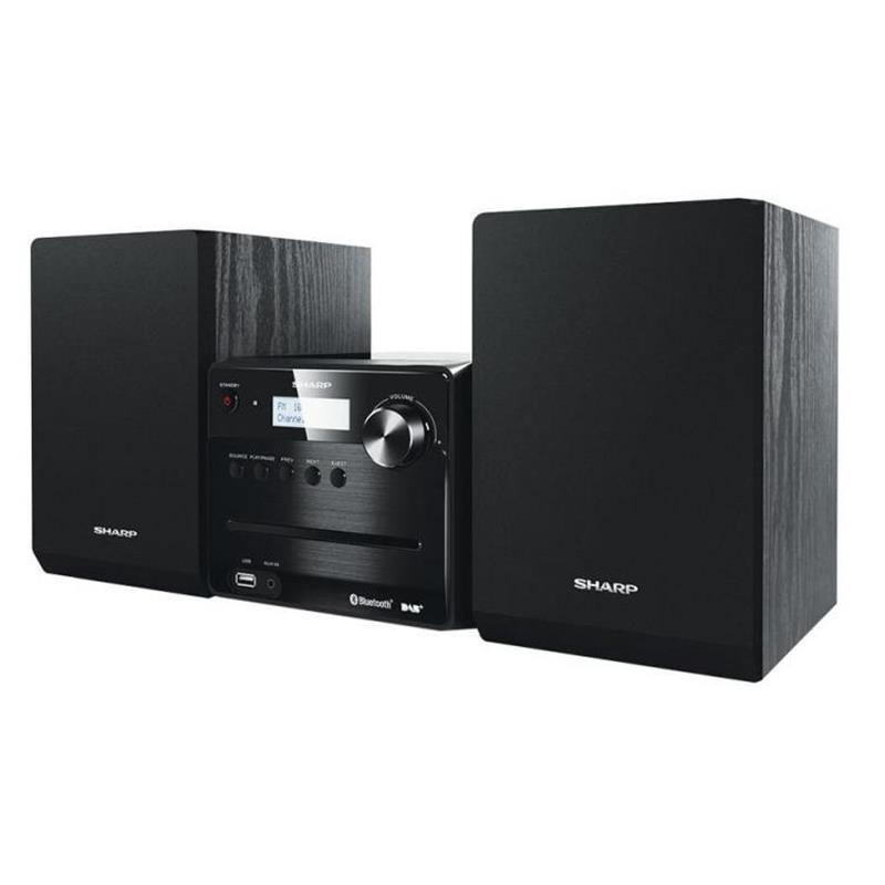 Микросистема Sharp Micro Sound System Black (XL-B515D(BK))