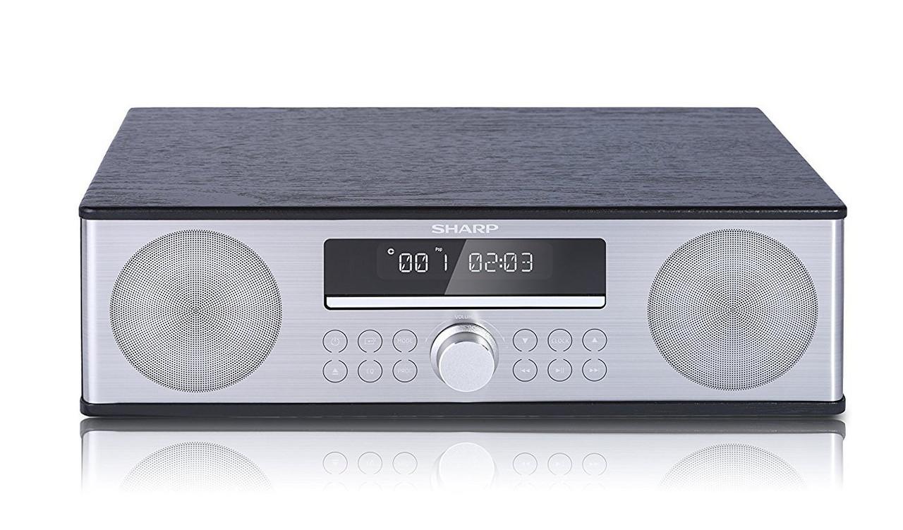 Микросистема Sharp All-in-One Sound System Black (XL-B715D(BK))