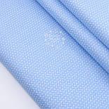 "Лоскут сатина  ""Свитерок"" голубого цвета, № 2433с, размер 40*80 см, фото 2"