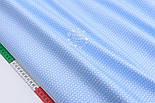 "Лоскут сатина  ""Свитерок"" голубого цвета, № 2433с, размер 40*80 см, фото 3"