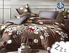 Комплект постельного белья Микроволокно HXDD-815 M&M 8394 Бежевый, фото 2