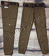 Джоггеры для мальчика 3-7 лет(коричневые) опт пр.Турция